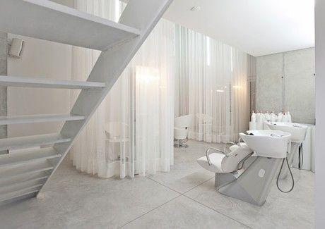 Modern minimalist salon and spa design gr bthspa hair salon