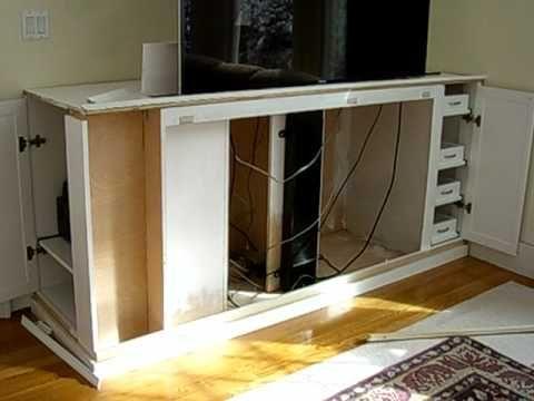 tv lift cabinet instruction diy playlist