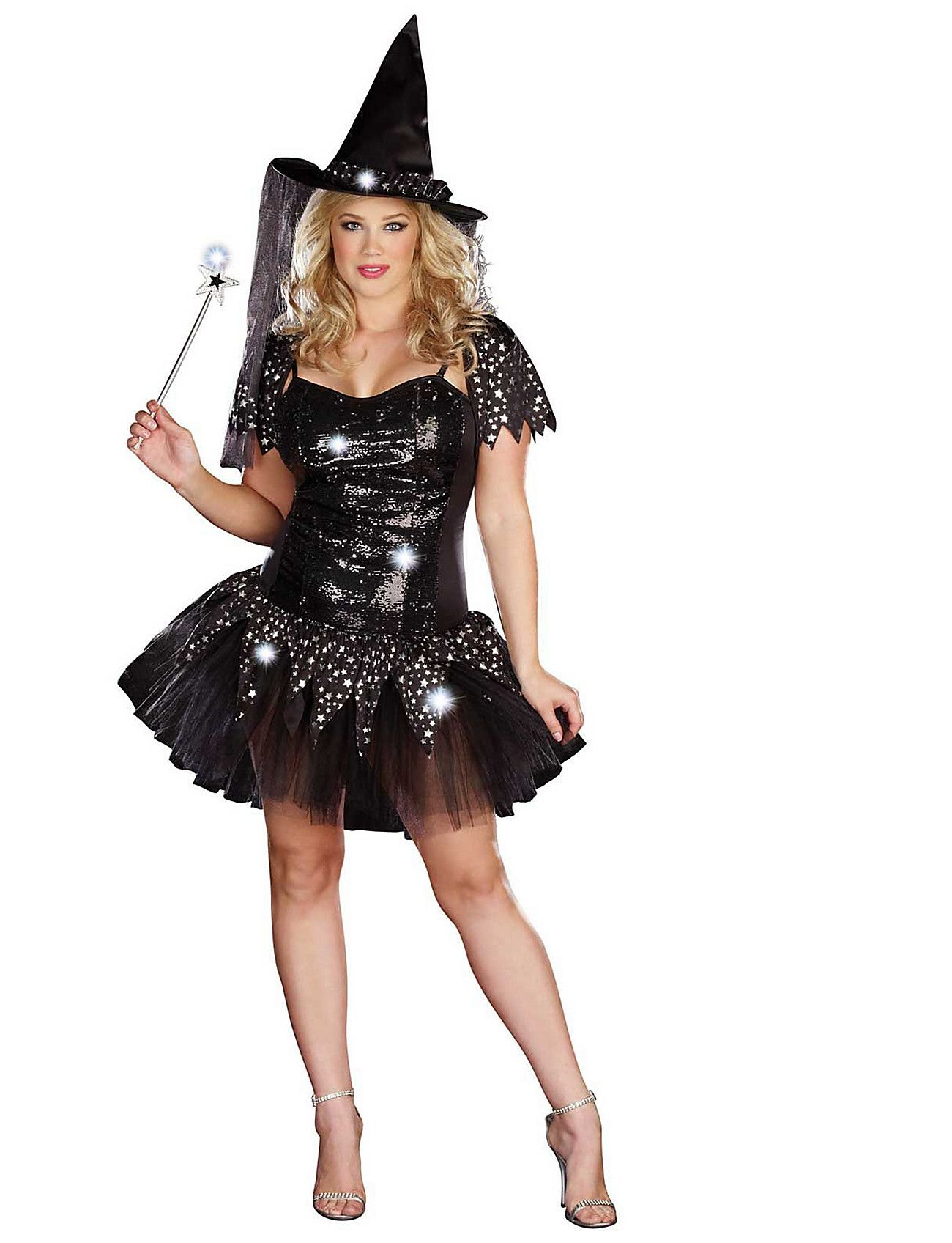 Love! Check out the Starry Night Witch Plus Size Costume [Sizes 1X ...
