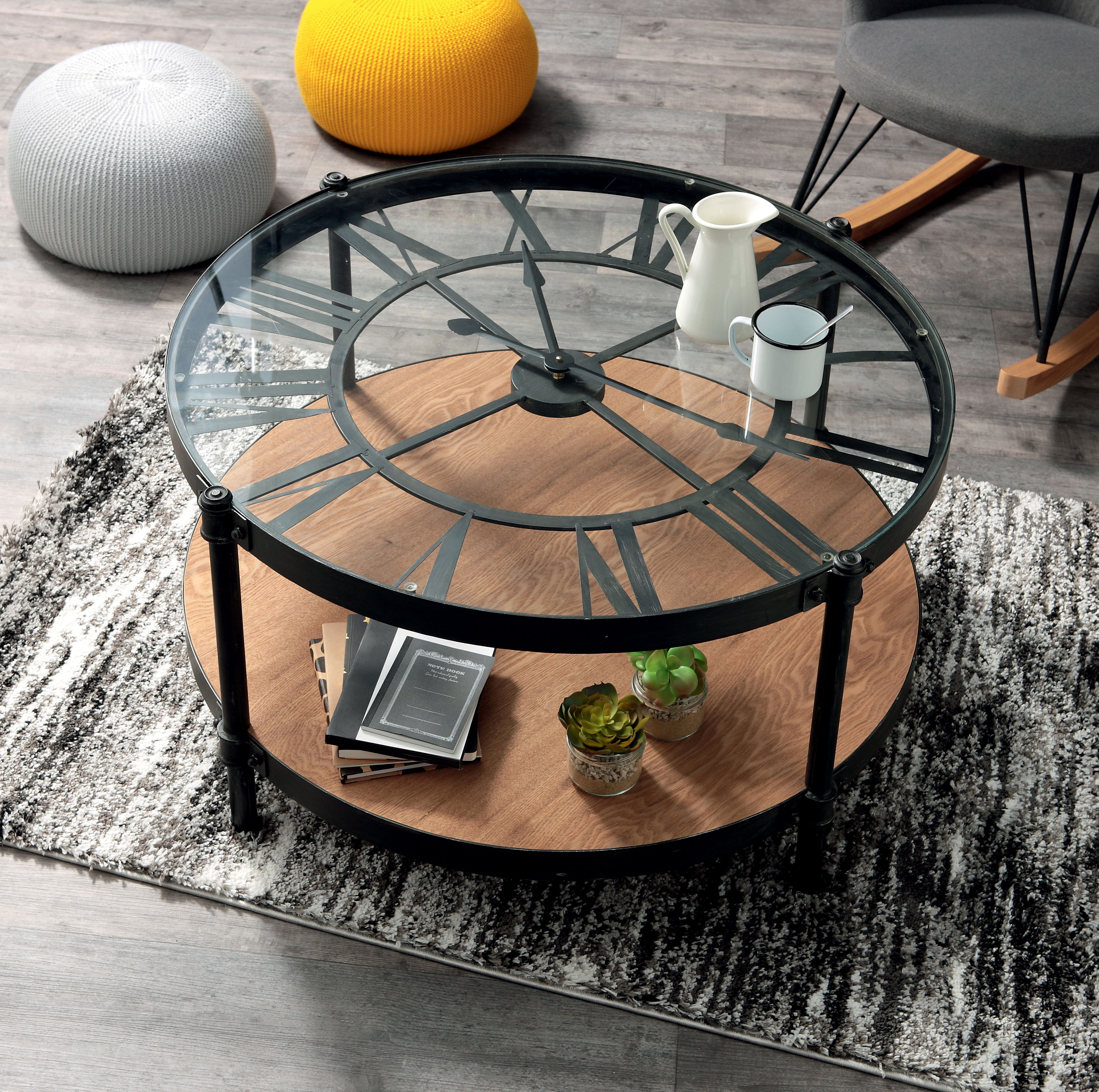 la table basse horloge table basse
