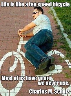 Riding The Bike Bicycle Bike Funny Photos