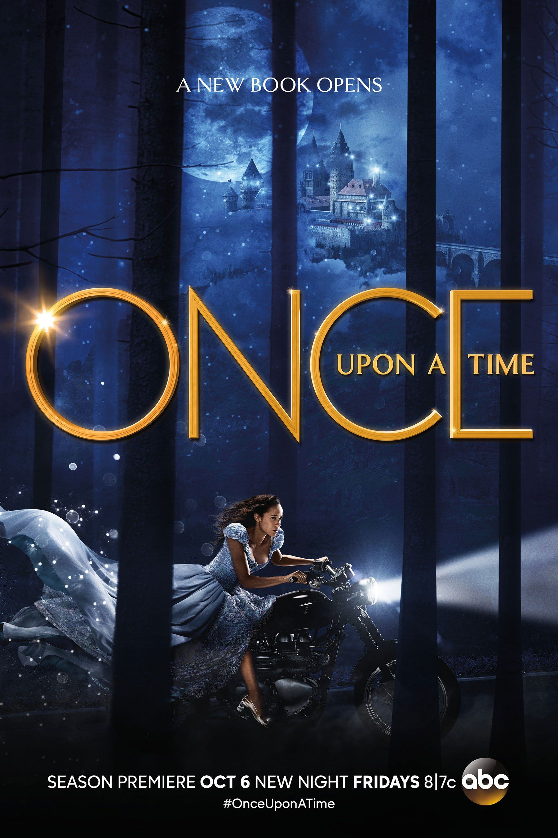 Once Upon A Time Cinderella Takes Flight In Exclusive New Poster