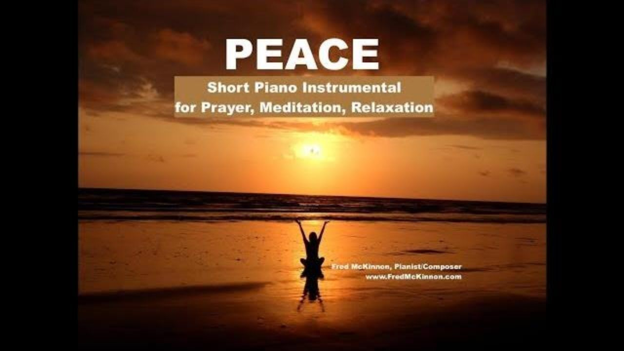 PEACE is a short, 7-minute piano instrumental interlude by