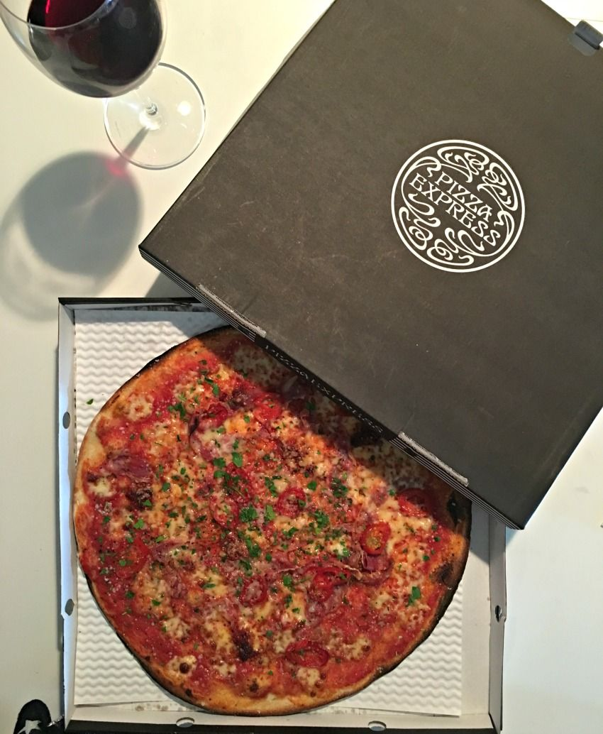 The Etna From Pizza Express And Deliveroo Pizza Express