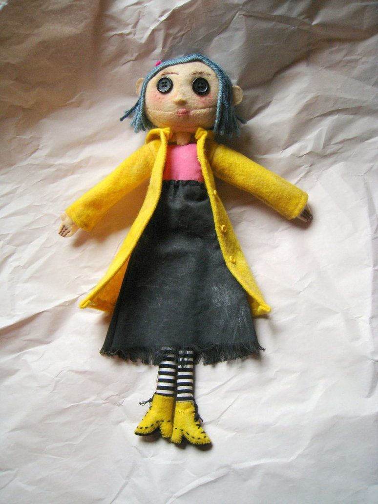 Looks Like A Challenge Coraline Doll Coraline Costume Gothic Dolls