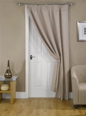 Idea Curtains For The Front Door That Can Be Tied Back But Closed When Show Starts To Seem More In I Dunno