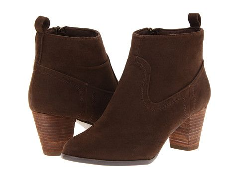 Christin Michaels Booties Brown