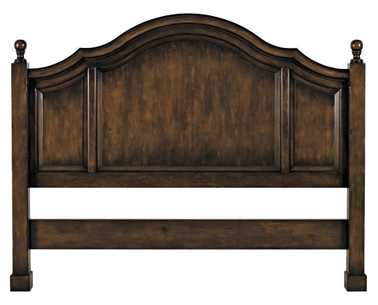Custom Design Solid Wood Beds King Headboard by Old ...