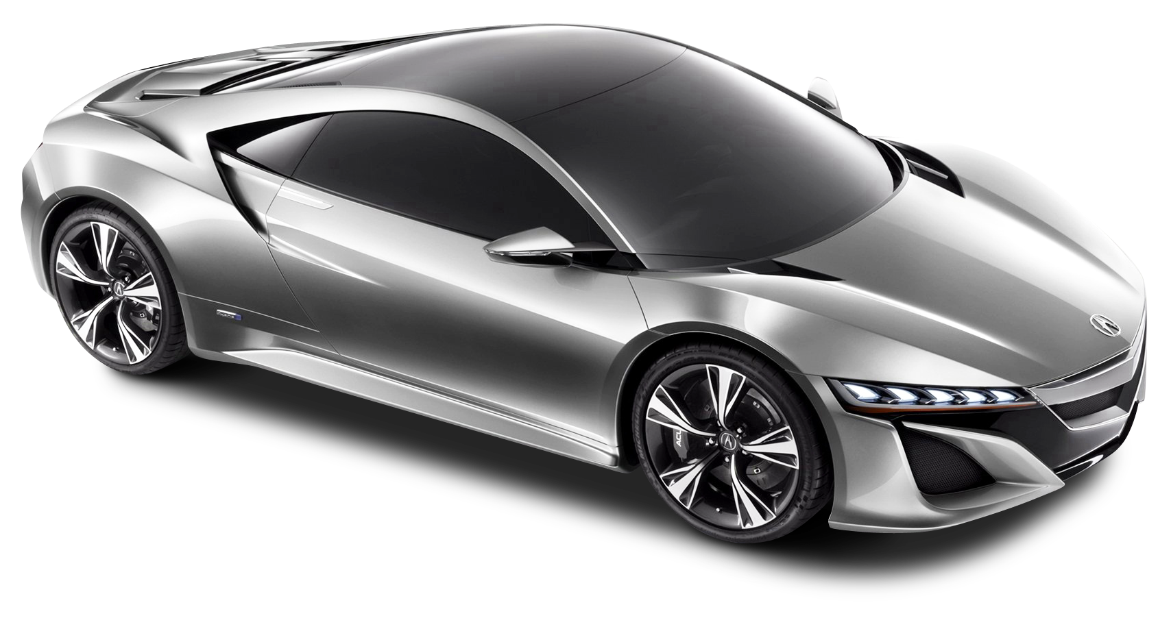 Acura Nsx Silver Car Png Image Silver Car Acura Nsx Nsx