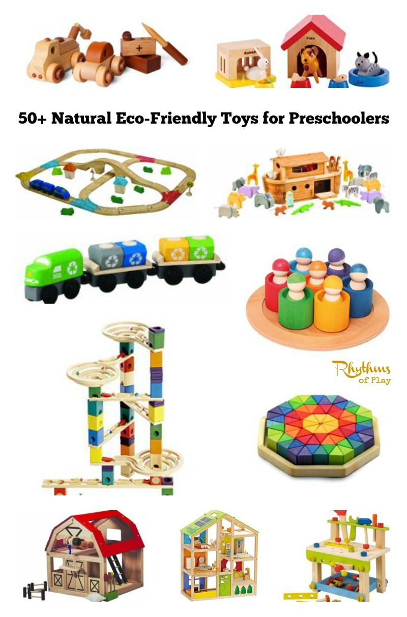 Natural Eco-Friendly Toys for Preschoolers: Some good ideas for the church nursery