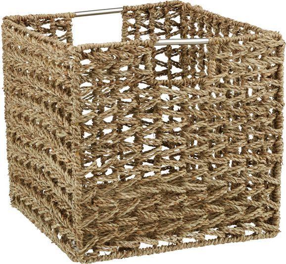 Schicker Regalkorb aus Seegras - eine praktische Ergänzung für Ihr Regal