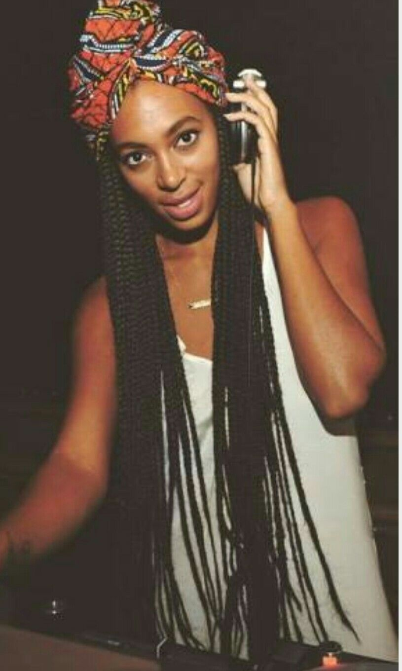 Solange Knowles Braids