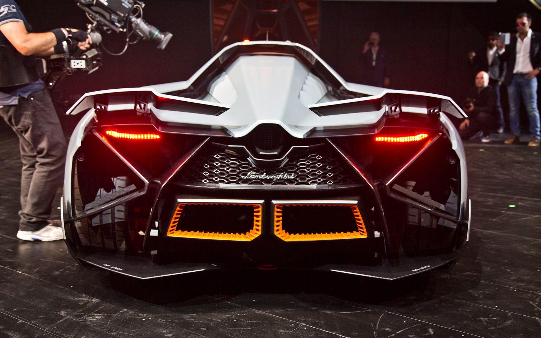 Lamborghini Egoista Concept Rear End Cars Cars Pinterest