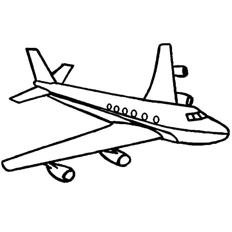 Coloriage Avion Airbus Coloriage Avion Coloriage Dessin A Colorier