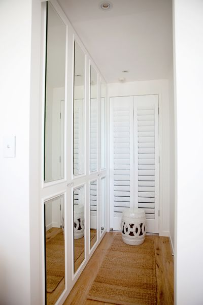 Oliveaux   Closets   Pine Hardwood Floors, Mirrored Closets, Mirrored Closet  Doors, White