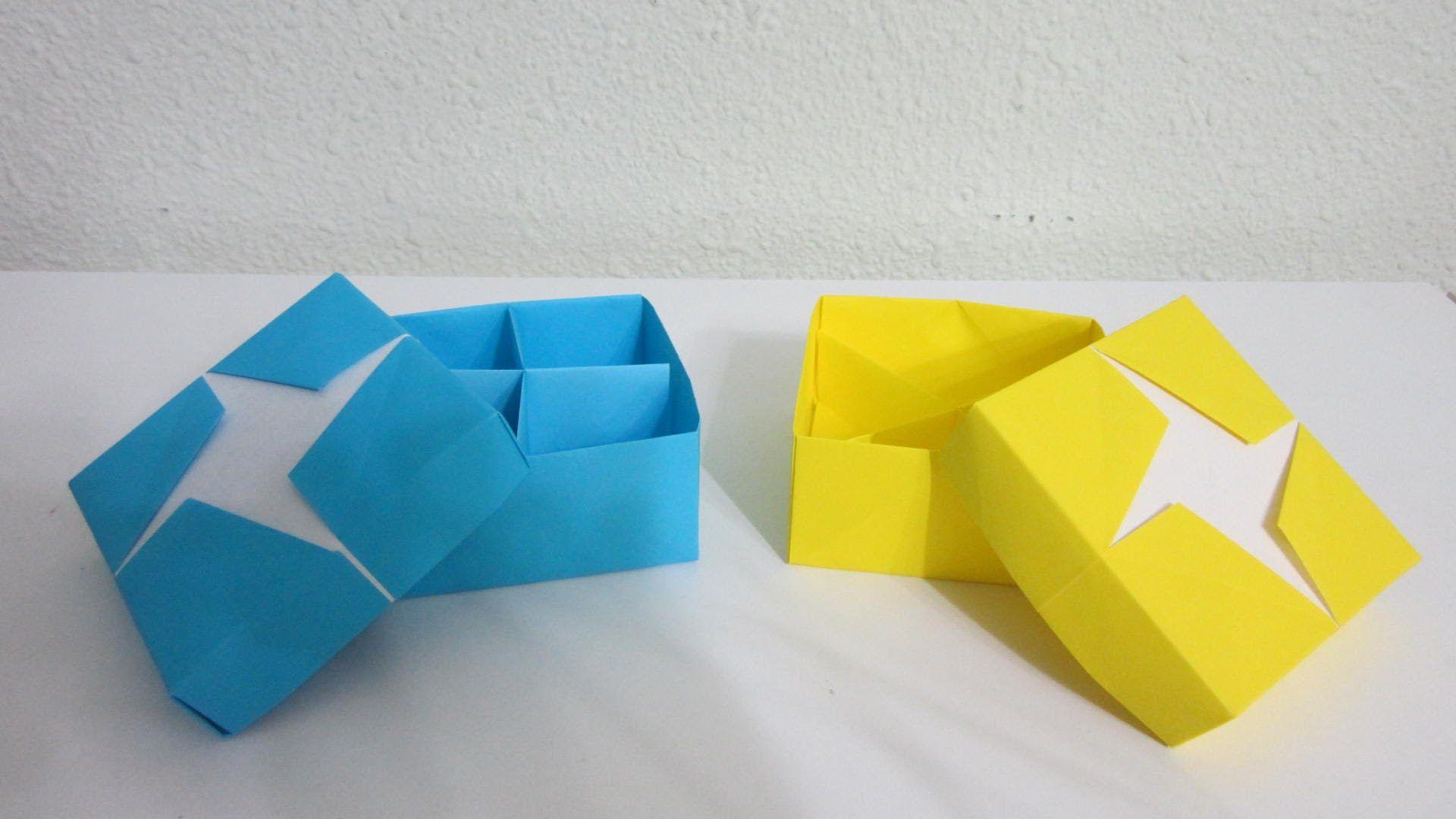Tutorial Star Box Masu Creator Darren Scott Origami