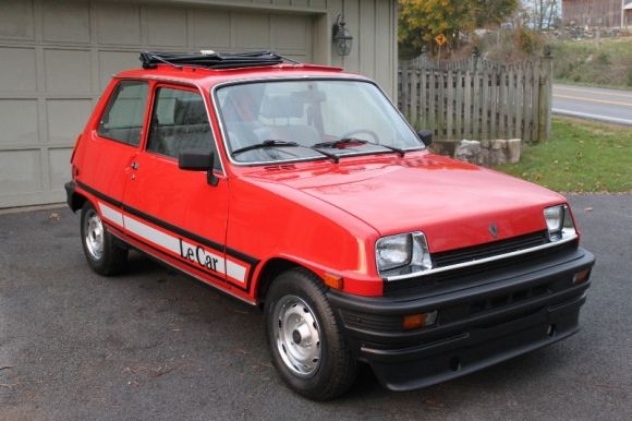 1983 Renault LeCar I almost bought one of these. They just looked ...