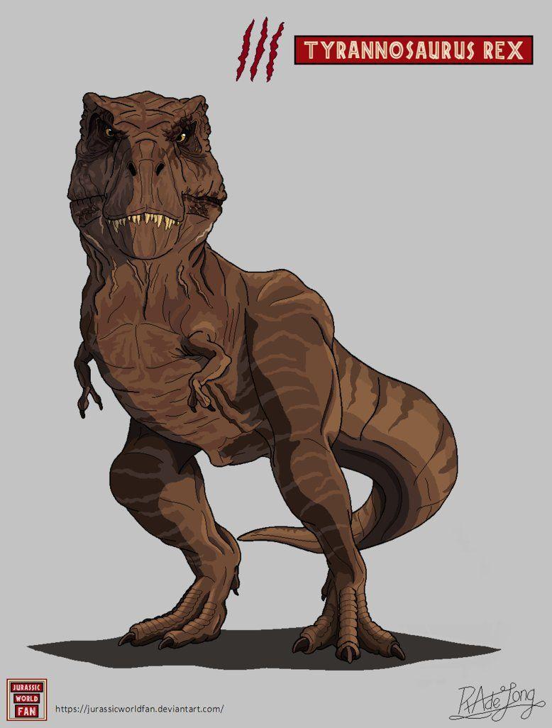 My Art Of The Tyrannosaurus Rex From Jurassic Park Jurassic World And Jurassic World Fallen Kingdom Jurassic World Dinosaurs Jurassic Park Jurassic Park World