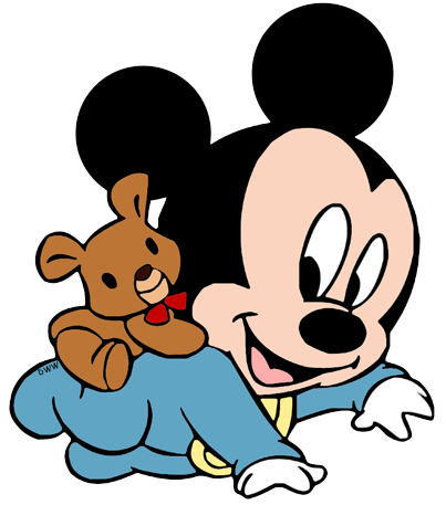 Disney Babies · Mickeybaby.png (403×457)