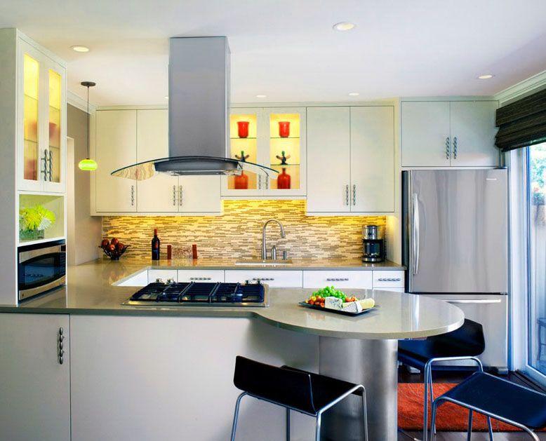 Resultado de imagen para cocinas integrales peque as para for Cocinas bonitas y modernas