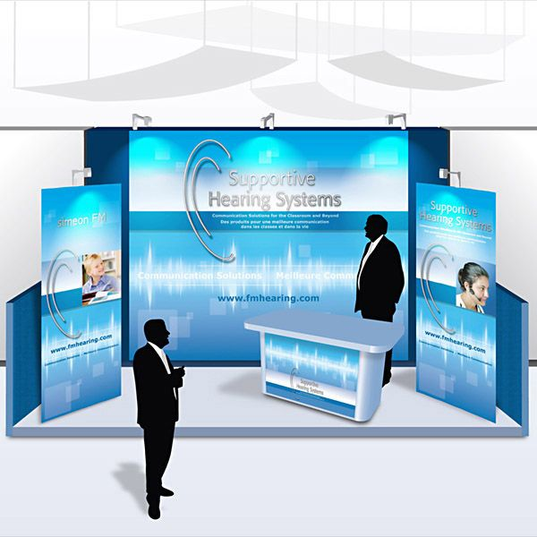Expo Stand Banner : Need a larger trade show booth that does more than just