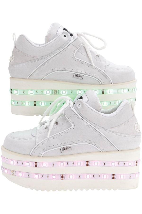 Ashish X Topshop Led Platform Sneakers Hipster Shoes Summer Shoes Summer Sneakers