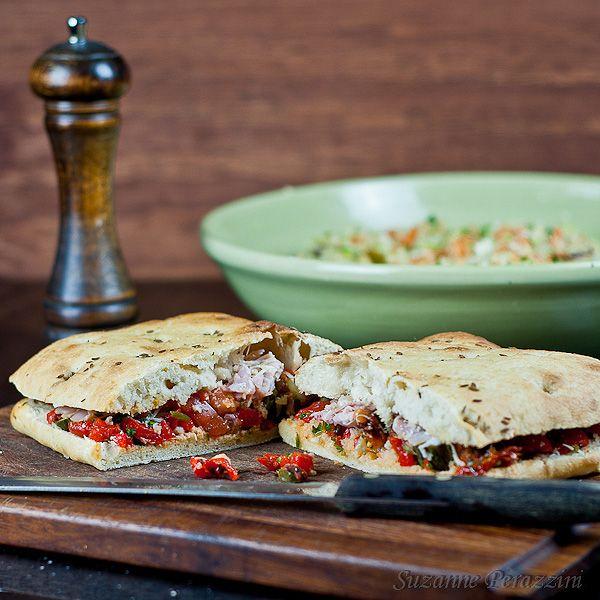Stuffed Focaccia  Jamie Oliver 30 minute meal  Recipe