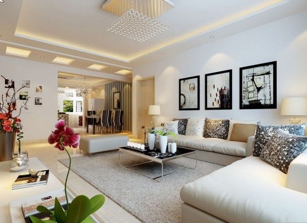 decoration impressive living room wall decorating ideas using ...