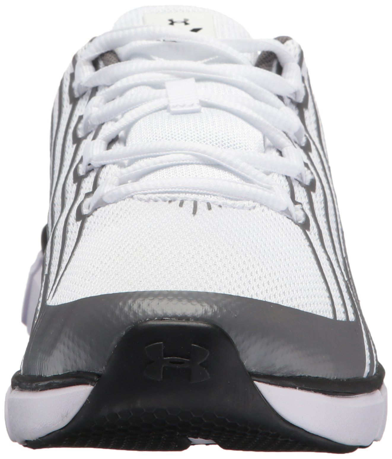 acceb94fda090 Under Armour Boys Grade School X Level Scramjet Remix Athletic Shoe White  102 Graphite 4 -- Find out more about the great product at the image ...