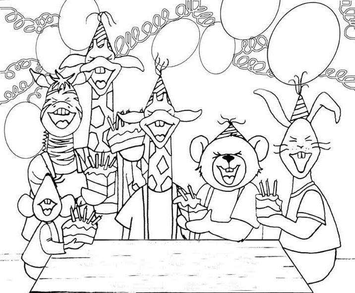 Kleurplaat Verjaardag Pake Idee 235 N Over Kleurpagina S