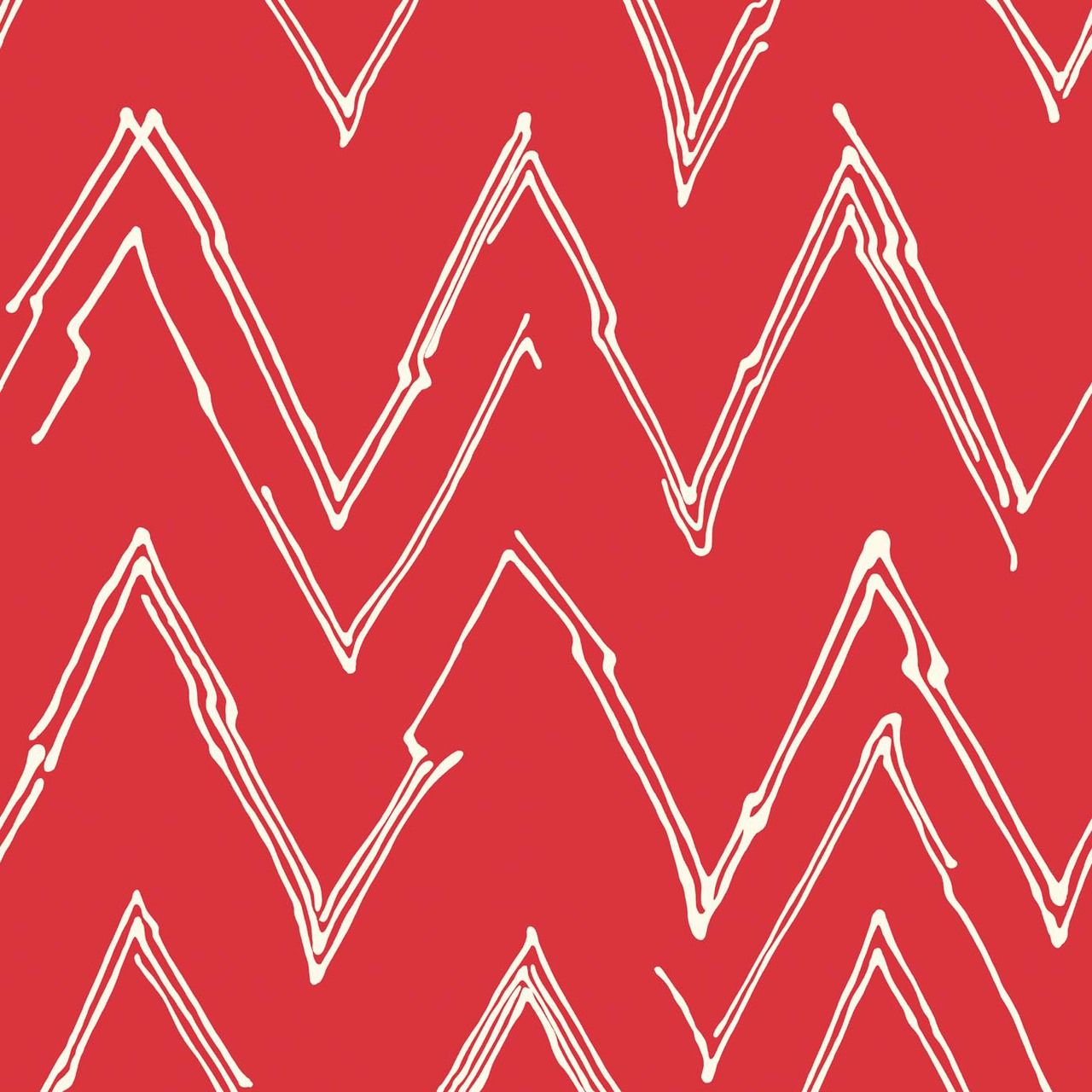 Peaks (Scarlet) - Abstract Geometric Fabric - The Textile District design to custom print for home decor, upholstery, and apparel. Pick the ground fabric you need and custom print the designs you want to create the perfect fabric for your next project. https://thetextiledistrict.com #designwithcolor #fabrics #interiordesign #sewing