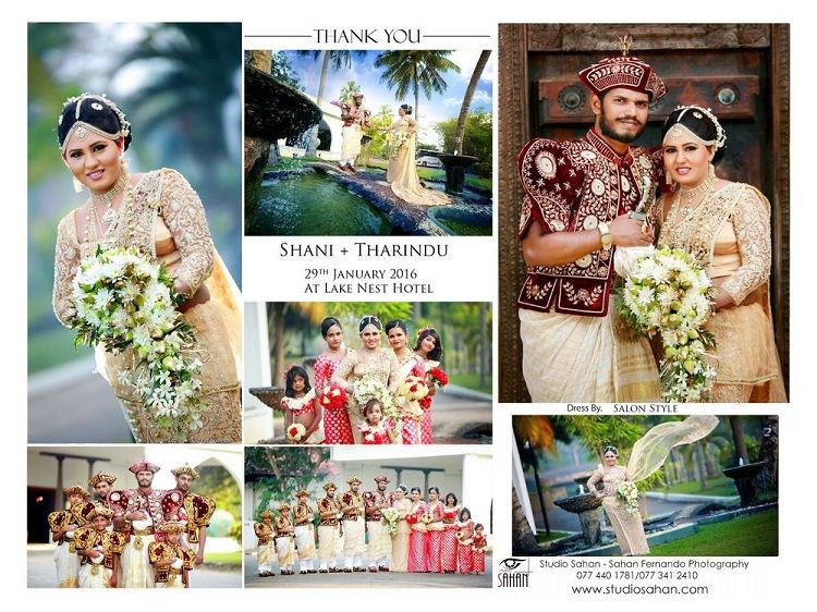 Wedding Thank You Cards In Sri Lanka Invitation Ideas Pinterest