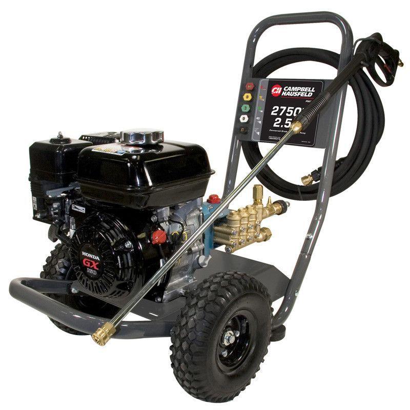 2750 PSI Gas Powered Pressure Washer With Honda GX160 Engine