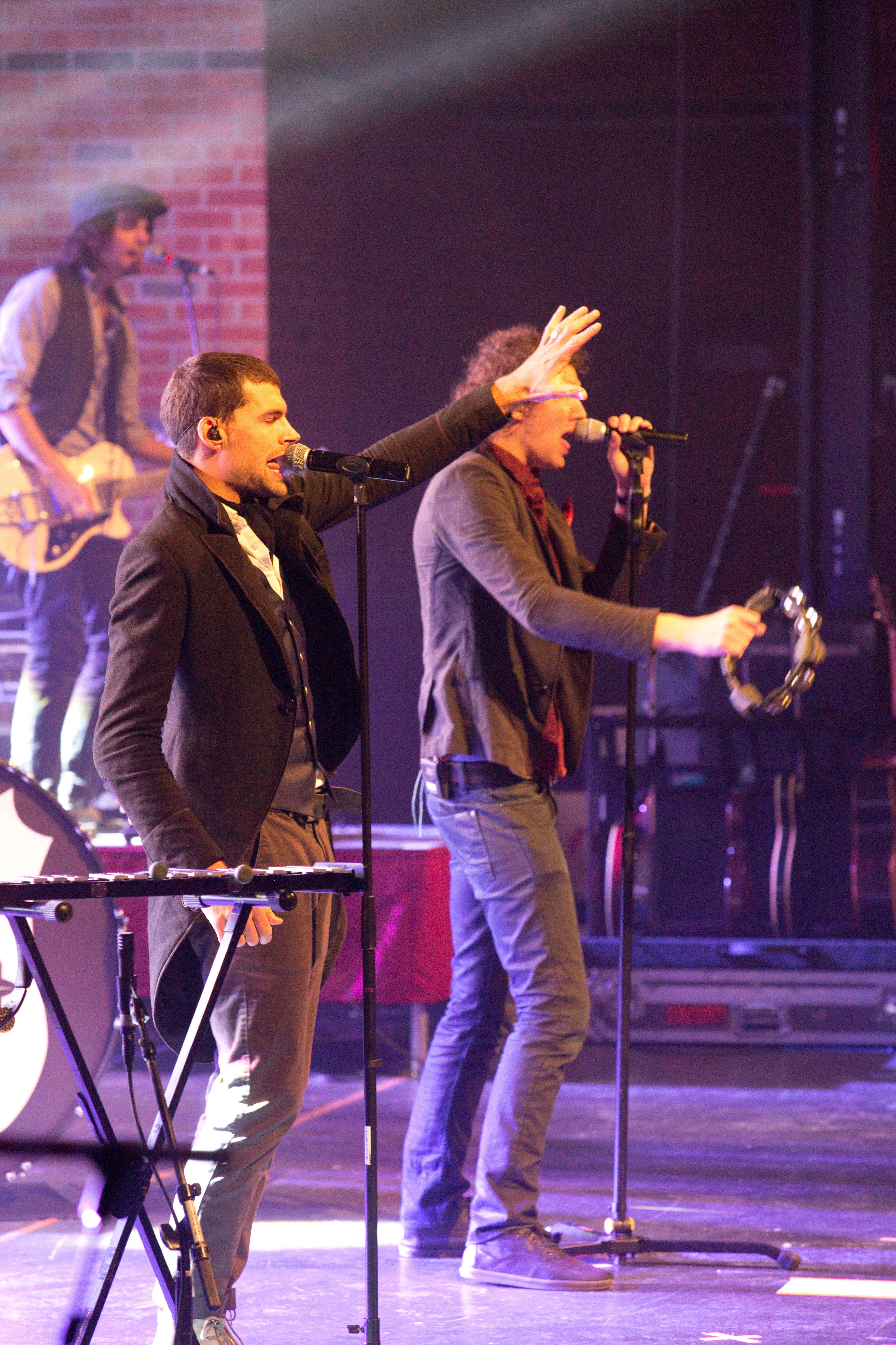 for KING & COUNTRY performing on the K-LOVE Christmas Tour in ...