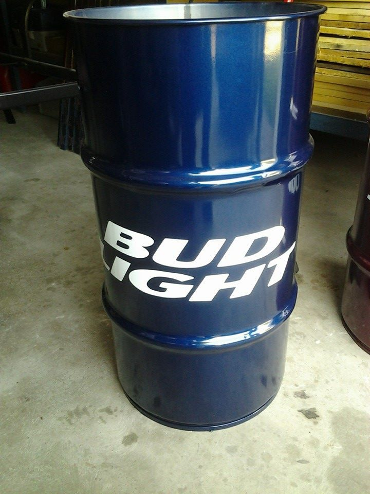 Bud Light Barrel Used At Parties To Keep The Beer Cold