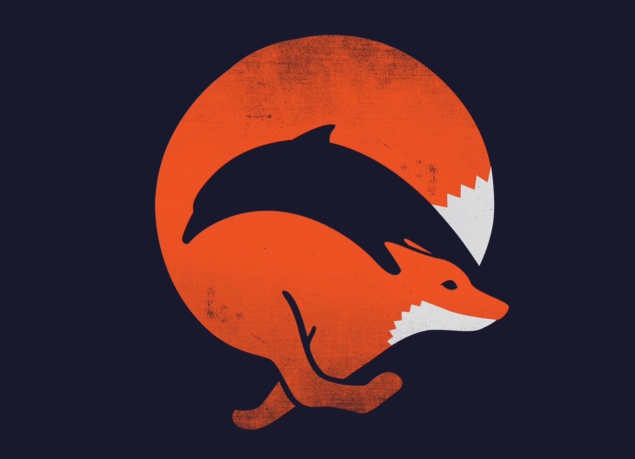 Dolphox threadless best t shirts in the world check out the design dolphox by ross zietz on threadless reviewsmspy