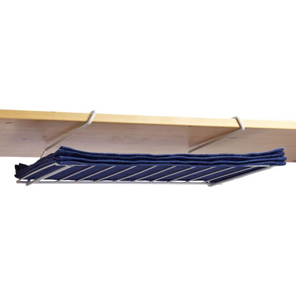 Undershelf Placemat Holder - can also store baking sheets, platters ...