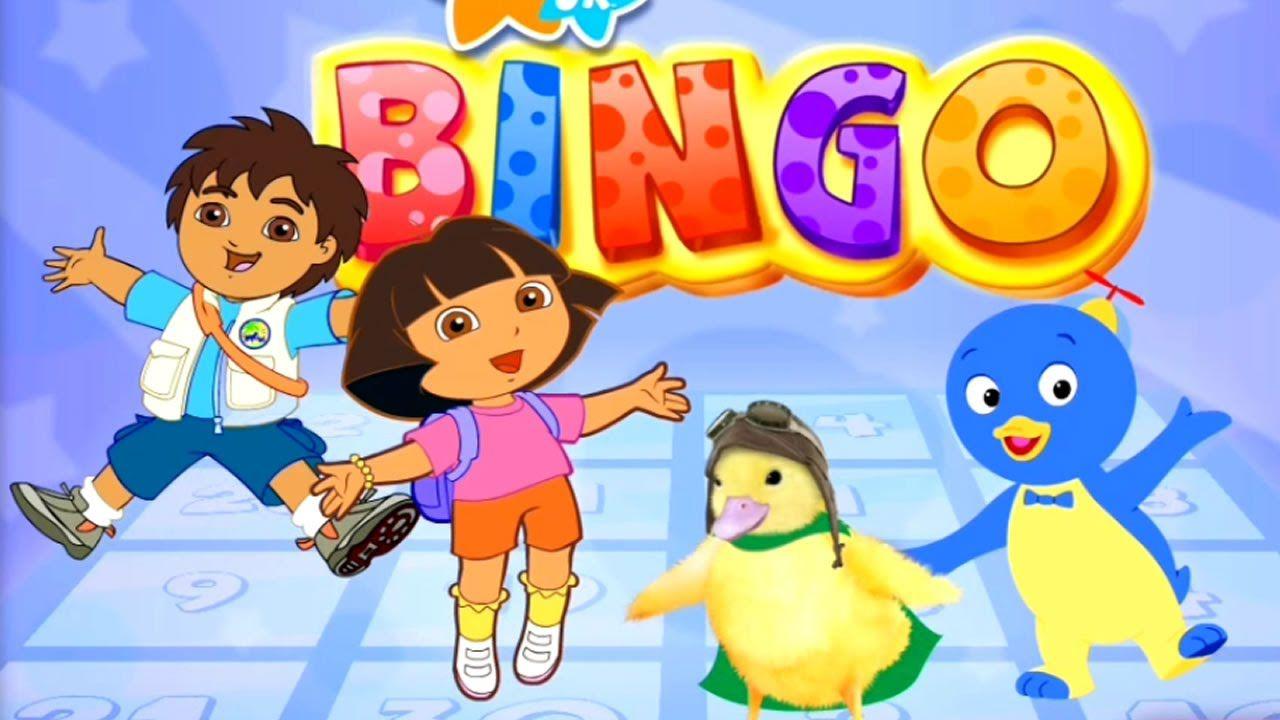 Dora The Explorer Game Bingo Game Movie Free Kid Games