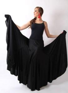 disfruta de precio barato precio moderado de calidad superior Falda godet bicolor P-M-G- F. 115 Falda de baile flamenco ...