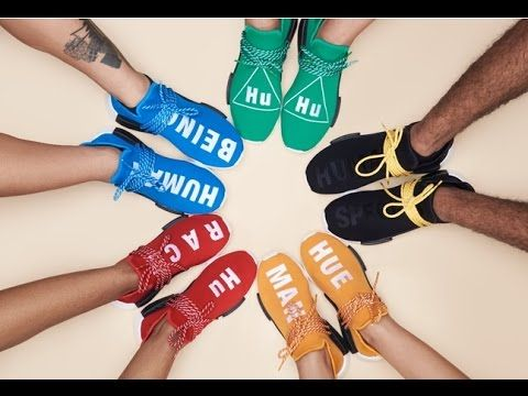 newest collection 6713c 019f9 Adidas NMD Human Race Red & Green on Feet HD Review #adidas ...