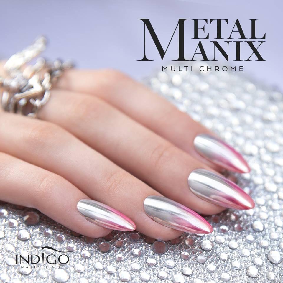 Metalmanix Multi Chrome Nails Nail Chrome Metal Mirror Magic