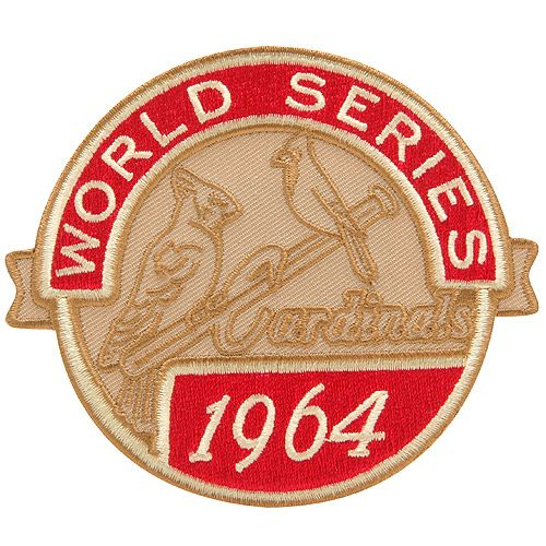 size 40 30da2 e025b St. Louis Cardinals 1964 Commemorative Patch - MLB.com Shop ...