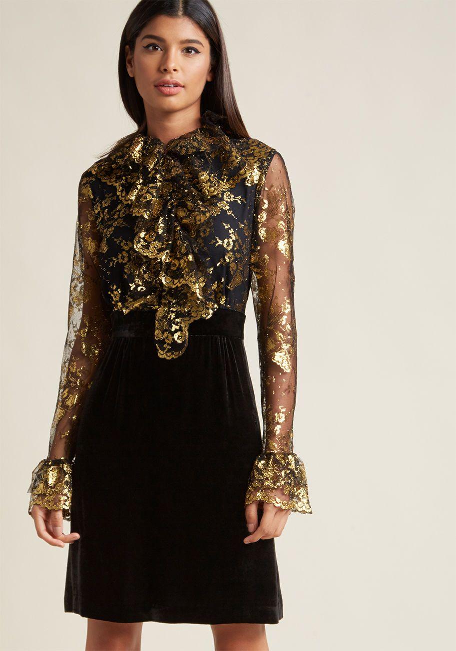Anna Sui Guild Of Glamour Long Sleeve Dress Long Sleeve Dress Long Sleeve Floral Print Dress Long Sleeve Ruffle Dress [ 1304 x 913 Pixel ]