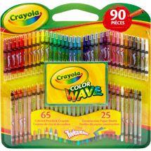 Walmart Crayola Twistables Color Wave Colored Pencils And Crayons