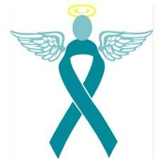 ovarian cancer clip art ovarian cancer ribbon posters cafepress rh pinterest com ovarian cancer ribbon clip art free Prostate Cancer Ribbon Clip Art