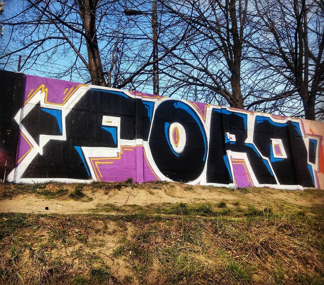 """Polubienia: 57, komentarze: 1 – Blady (@blady_halo_ziemia) na Instagramie: """"#ford #afe_tbe #042 #łódź #hollyłódź #eudezet #graffiti #instagraffiti #szpreje #negative…"""""""
