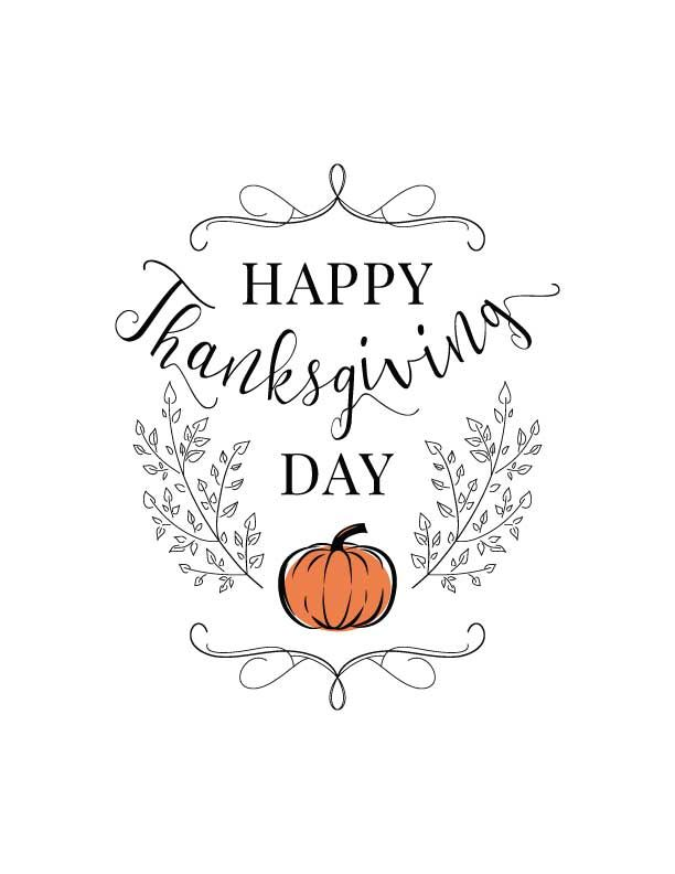 Free Thanksgiving Planner Happy Thanksgiving Pictures