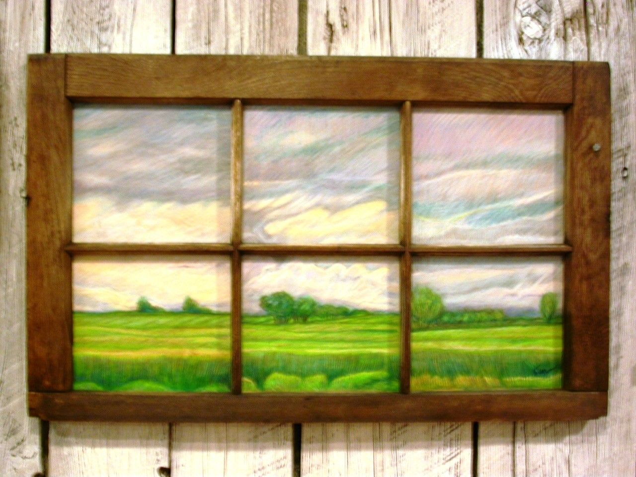 How To Make Picture Frames Out Of Old Windows. Best Old Window Frame ...