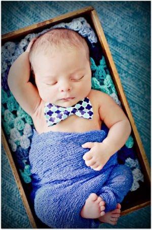 Loving the bowtie newborn baby boy photo by jane77