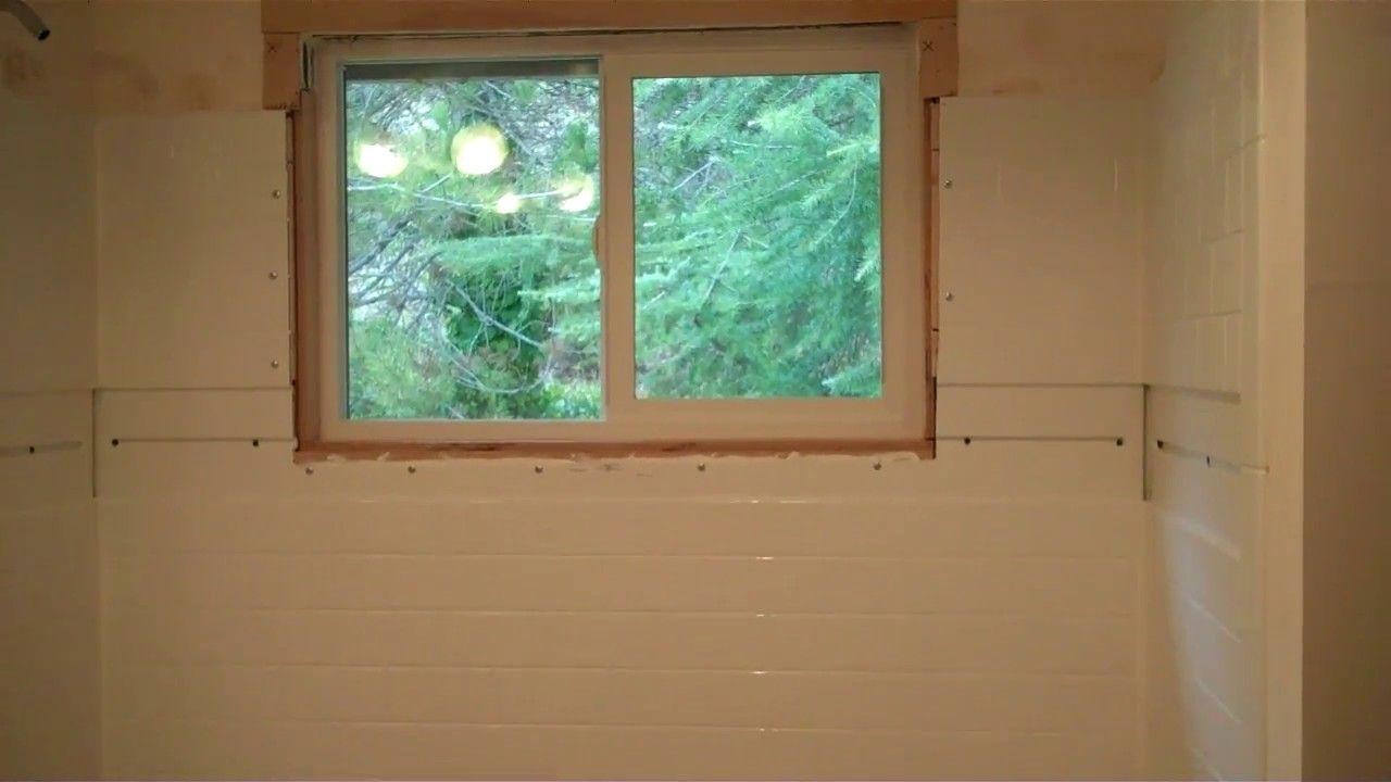 Delta UPstile Shower Installation with Window Shower